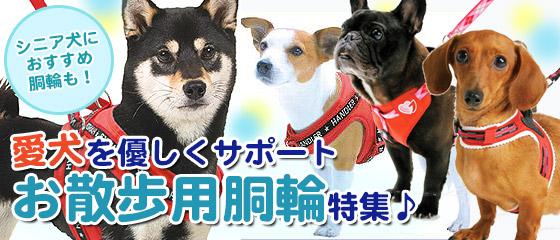 犬用 シニア犬にもおすすめ♪お散歩用胴輪・ハーネス